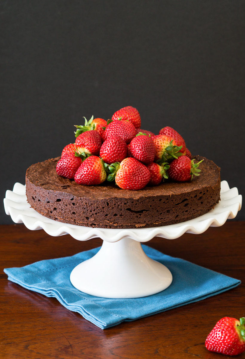 Flourless Chocolate Cake with Chipotle - | heinstirred.com ...