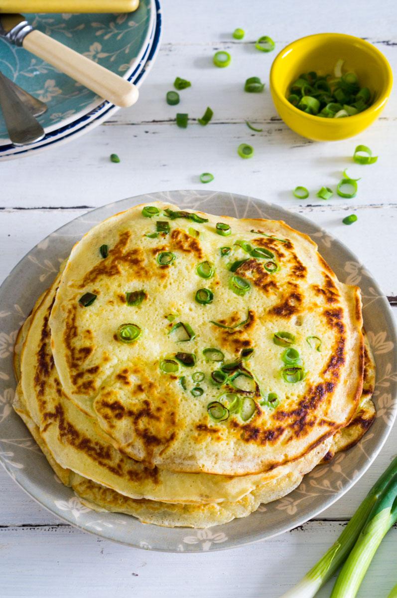 Spring Onion Pancakes