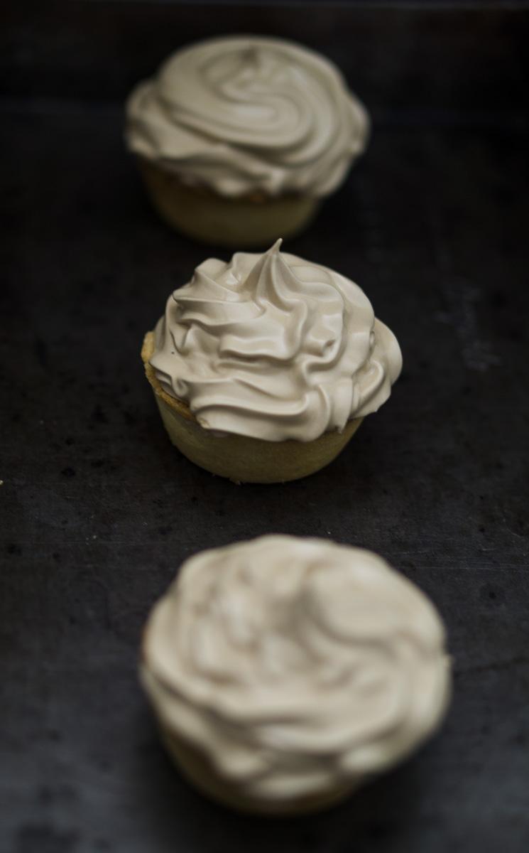 Espresso Meringue Mince Pie