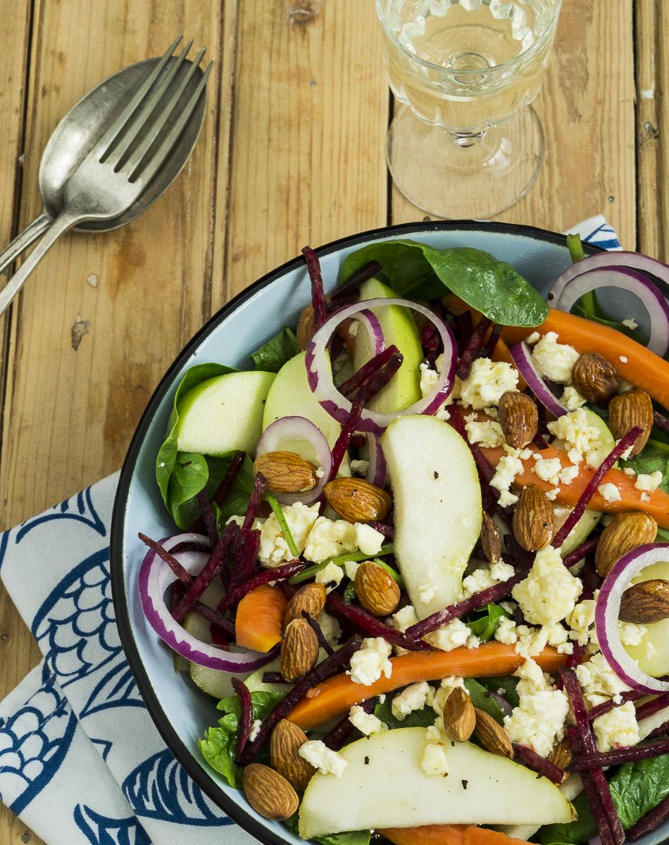 Raw Summer Salad
