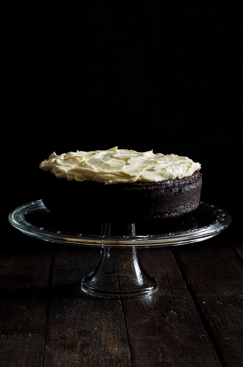 Chocolate Stout Cake -