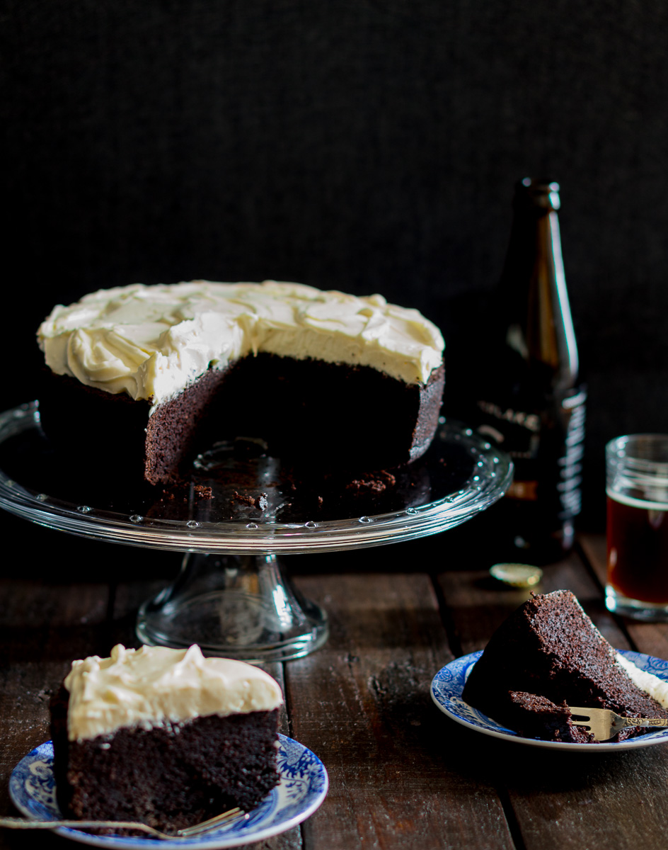 Chocolate Stout Cake Epicurious