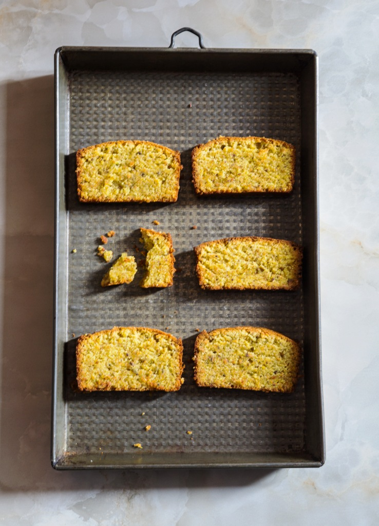 Orange & Pistachio Cake