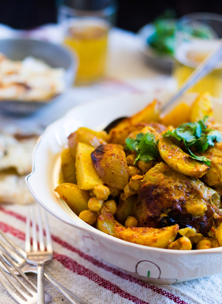 Chicken and Chickpea Curry