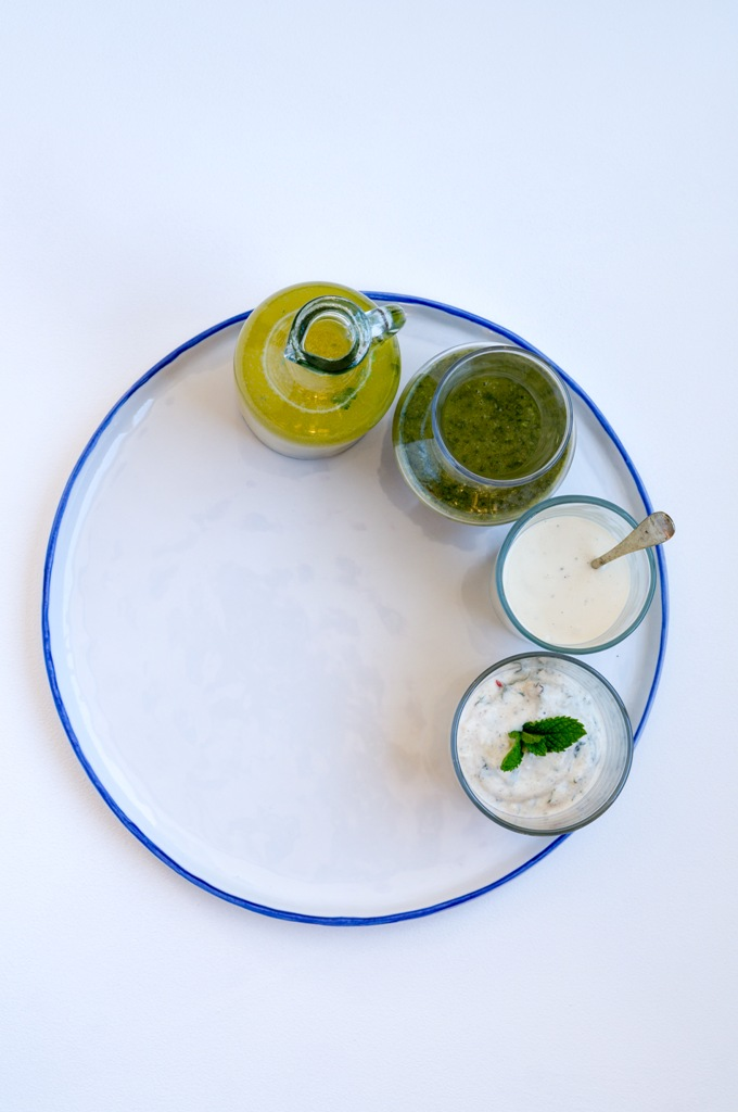 Four Summer Dressings