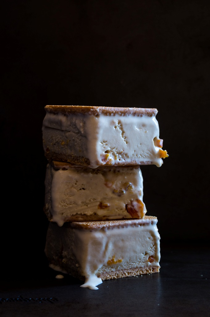 Earl Grey Ice Cream Sandwich