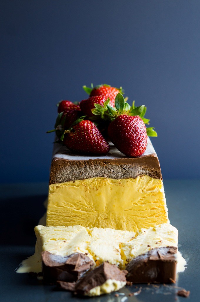 Passion Fruit Semifreddo