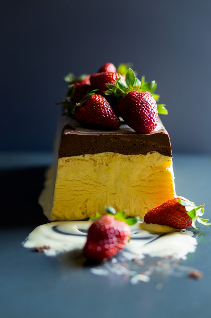 Chocolate Semifreddo With Chile-Chocolate Sauce Recipes — Dishmaps