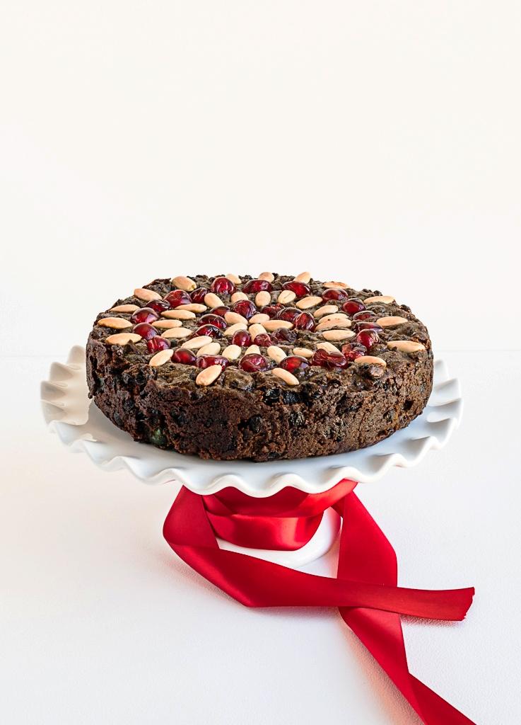 Flourless Chocolate Fruitcake