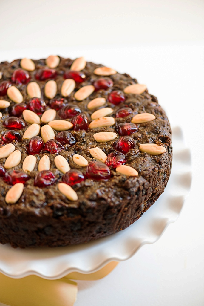 Flourless Chocolate Fruitcake