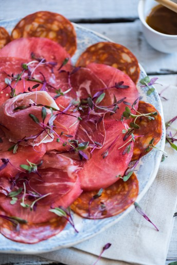 Watermelon Carpaccio l heinstirred.com