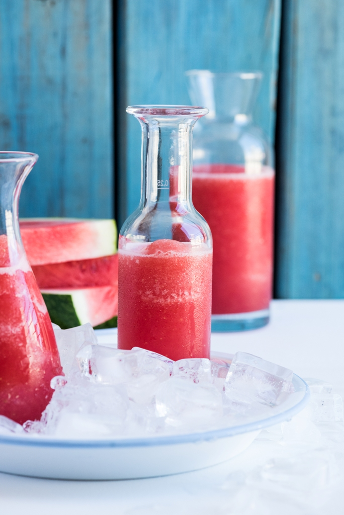 Frozen Watermelon Lemonade l heinstirred.com