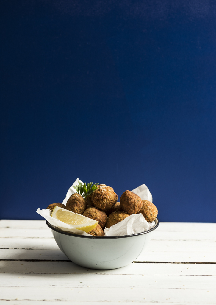 Falafel with Spicy Tahini Yoghurt