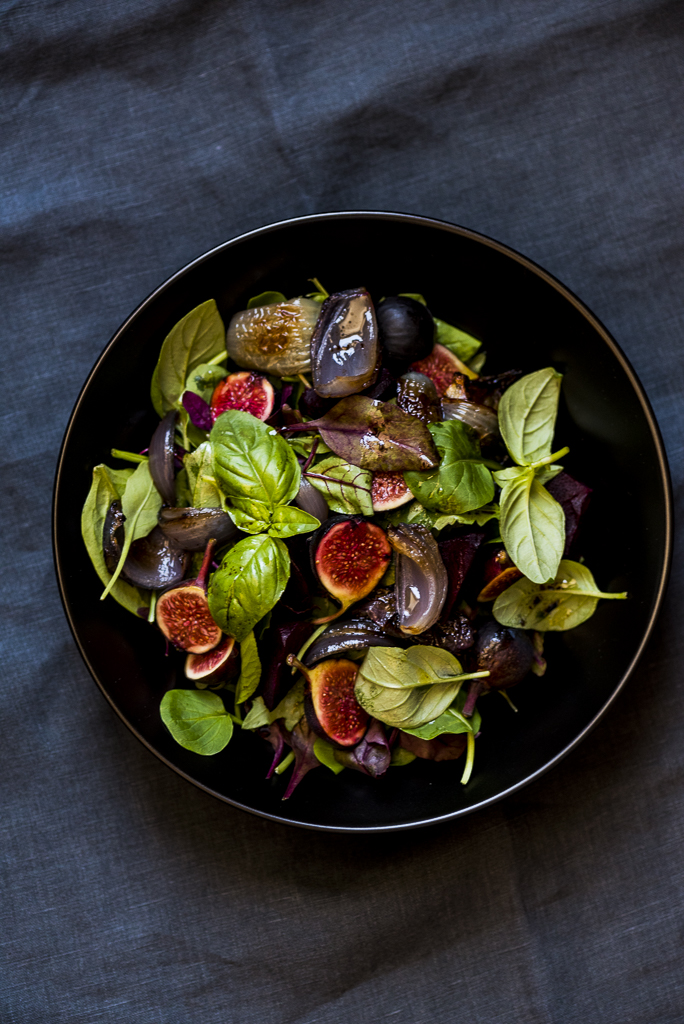 Fig Salad l heinstirred.com