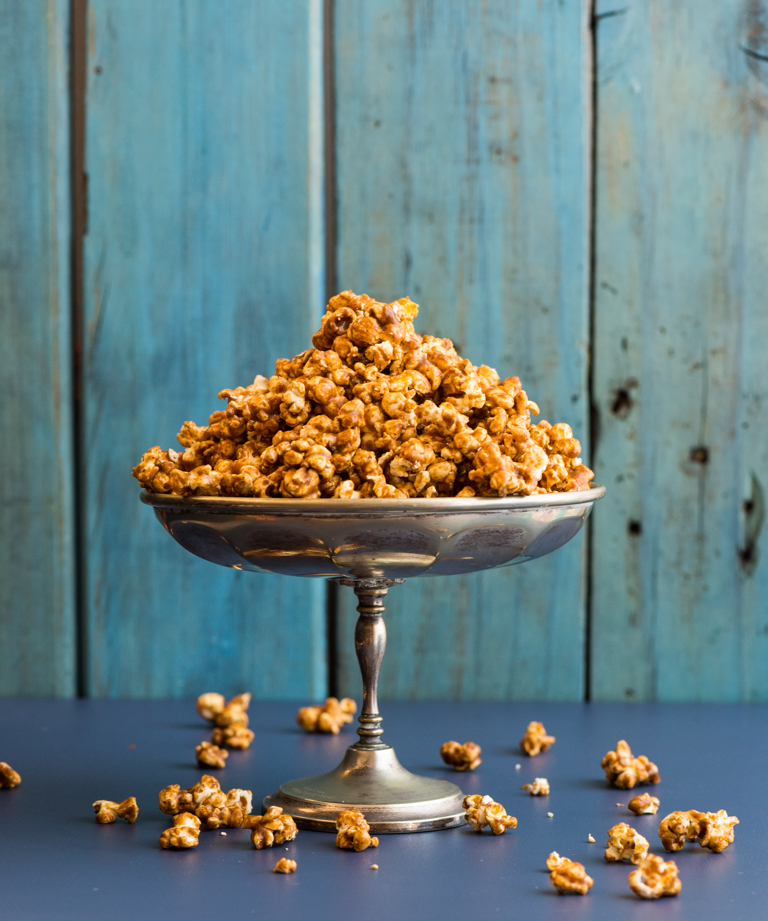 Spicy Salted Caramel Popcorn