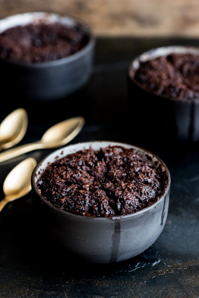Boozy Chocolate Coffee Pudding