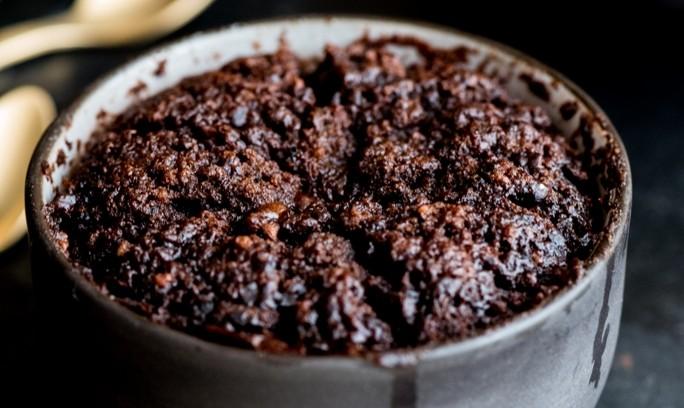 Boozy Chocolate Coffee Pudding