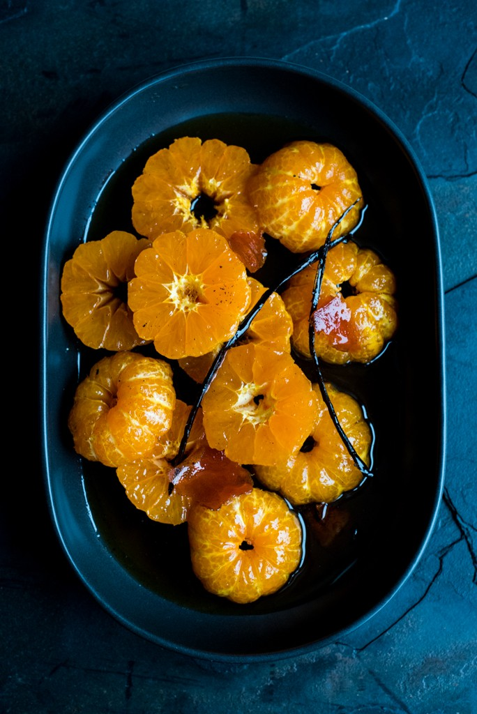 Caramel Poached Clementines