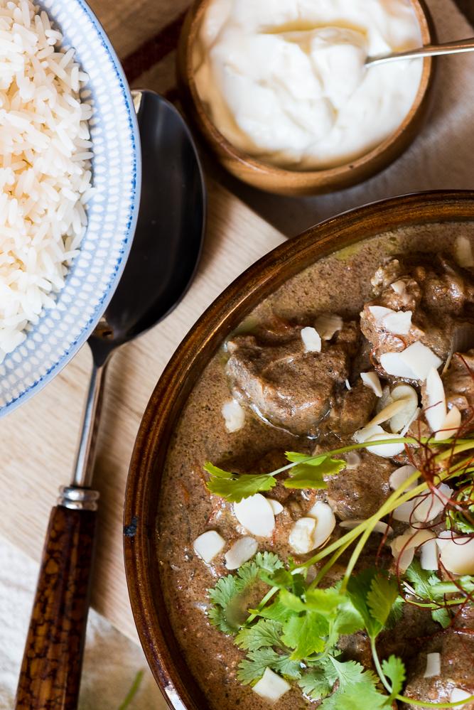 Yoghurt Marinated Lamb Curry