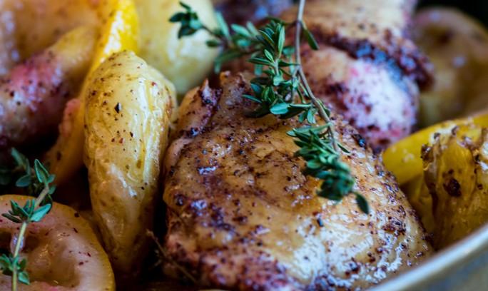 Sumac and Lemon Roast Chicken