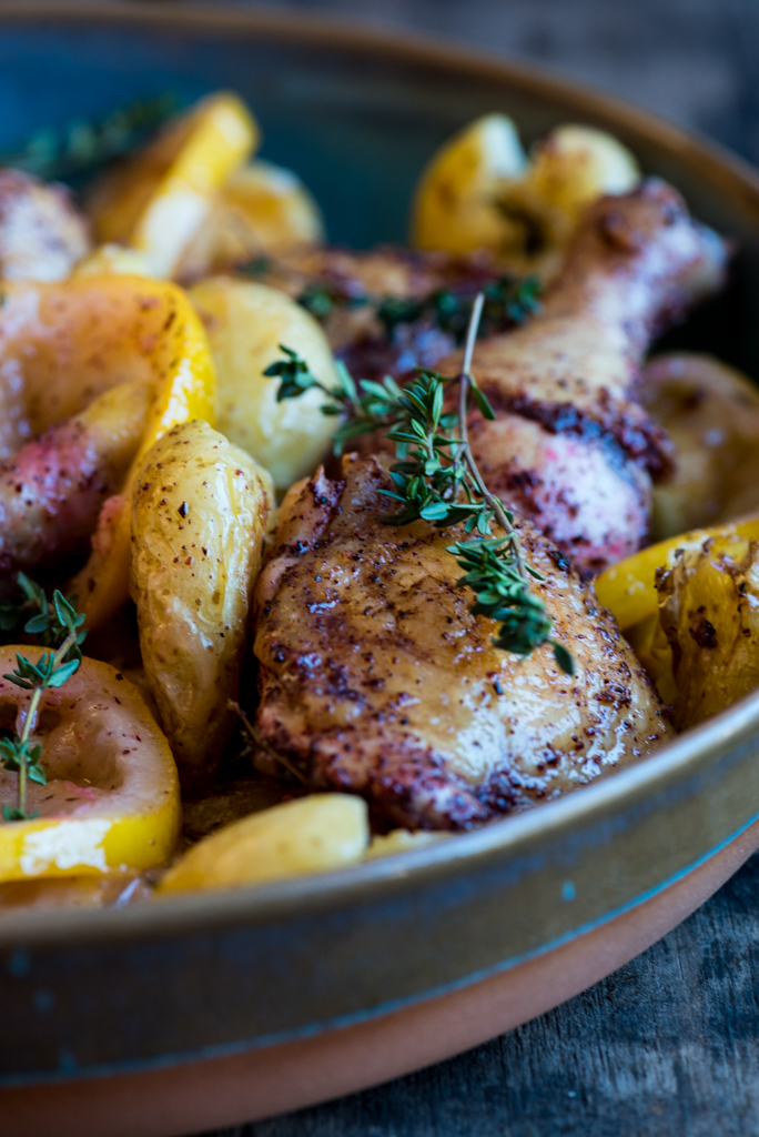 Sumac and Lemon Roast Chicken
