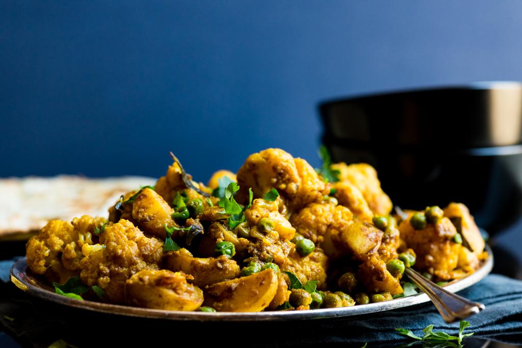Aloo Gobi - Cauliflower with Potato