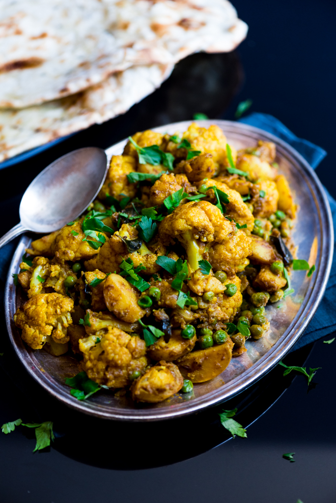 Aloo Gobi - Cauliflower with Potato