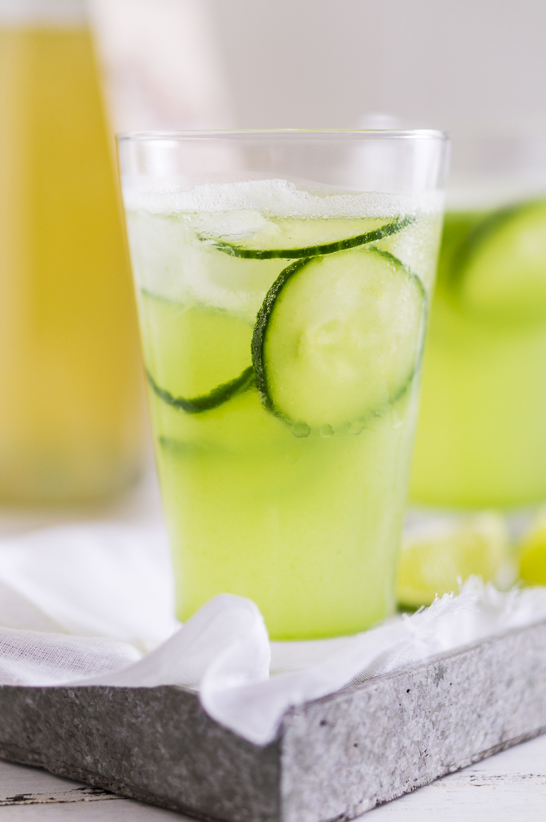 Cucumber and Ginger Fizz
