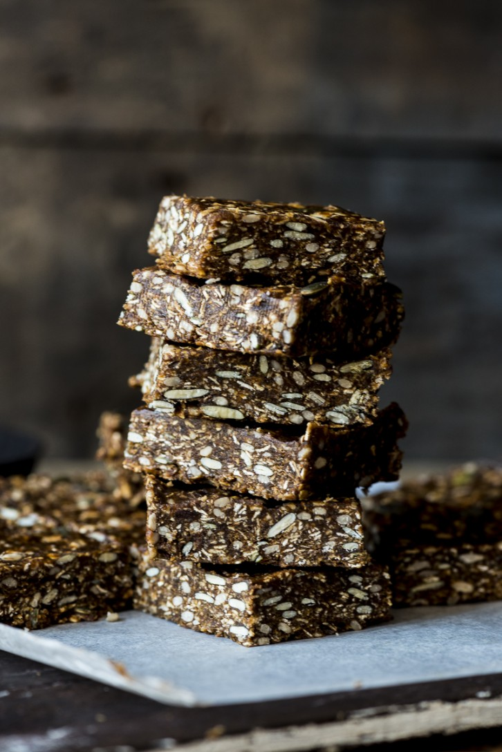 Vegan No Bake Granola Bars