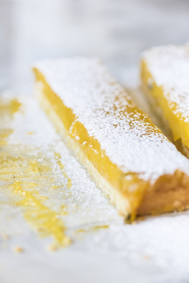 Passion Fruit Olive Oil Slices