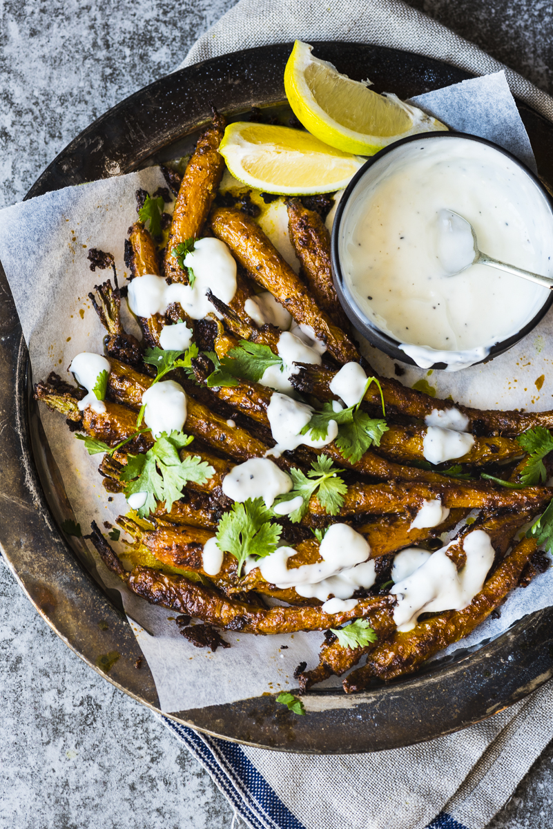 Tandoori Roasted Carrots
