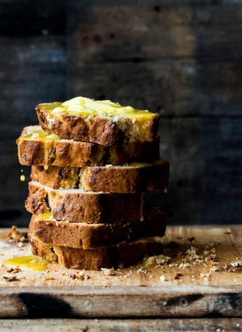 Bacon Peanut Butter Banana Bread