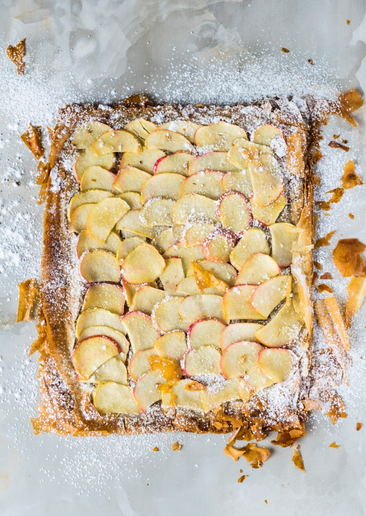 Apple Phyllo Tart