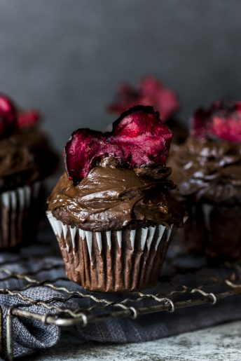 Chocolate Beetroot Cupakes