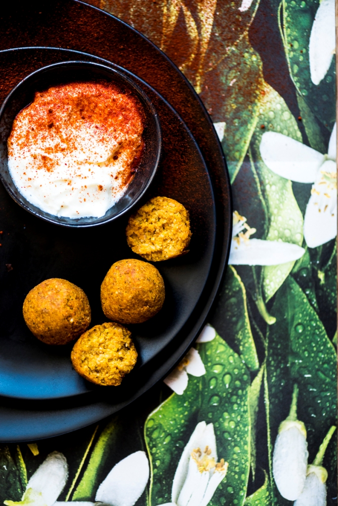Roasted Butternut Squash Falafel