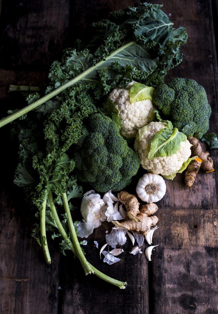Vegan Kale and Coconut Soup