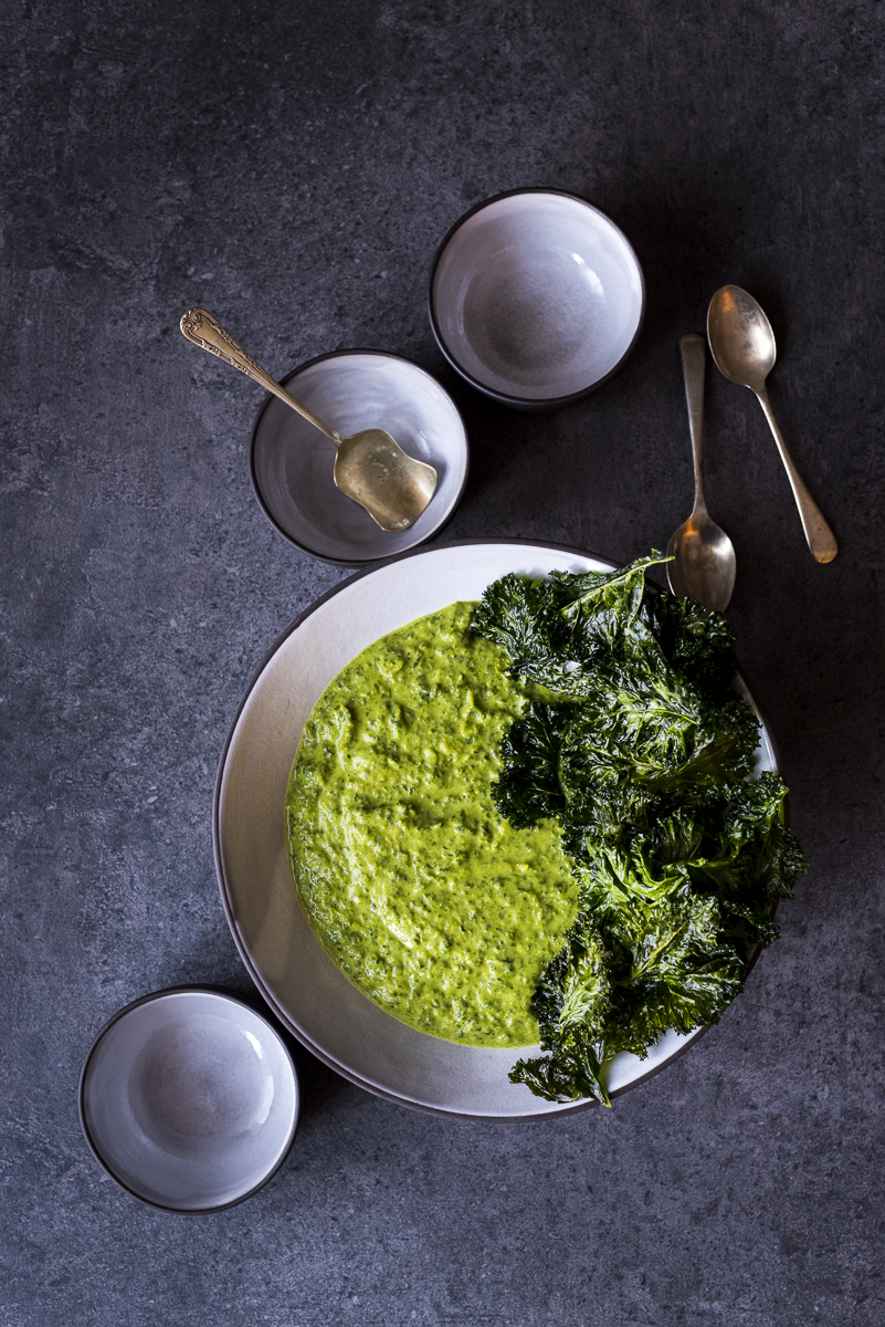 Vegan Kale and Coconut Soup