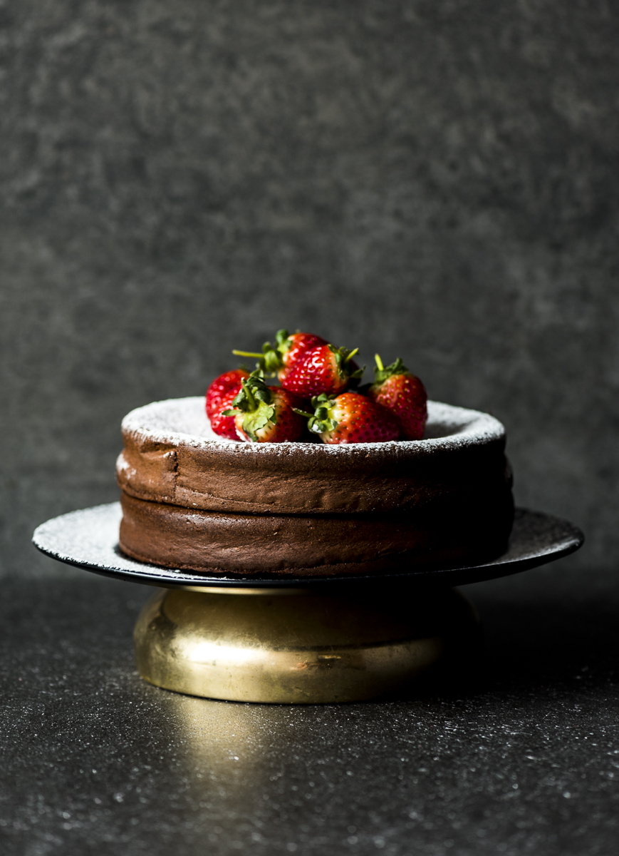 Two Ingredient Chocolate Cake
