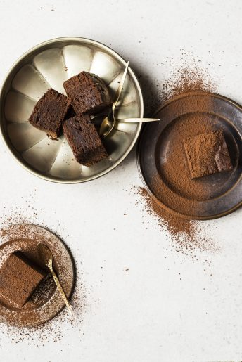 Chocolate Miso Brownies