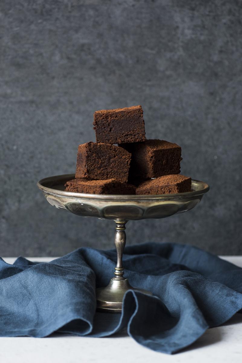 Chocolate Miso Brownies