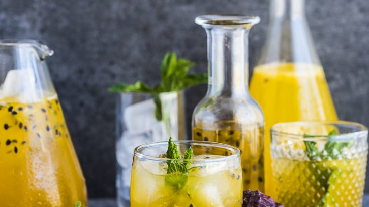 Passion Fruit Cordial