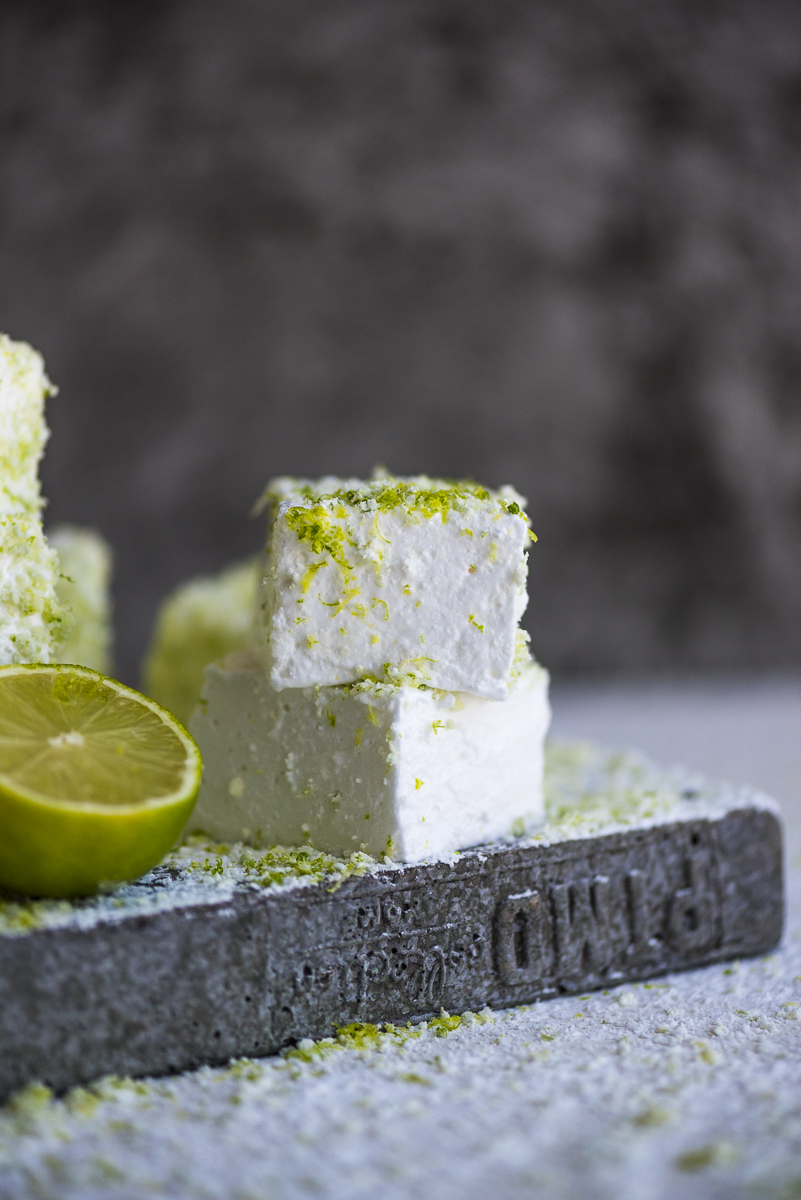 Salted Lime Sugar Marshmallows
