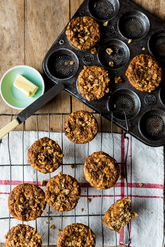 Apple and Olive Oil Breakfast Muffins