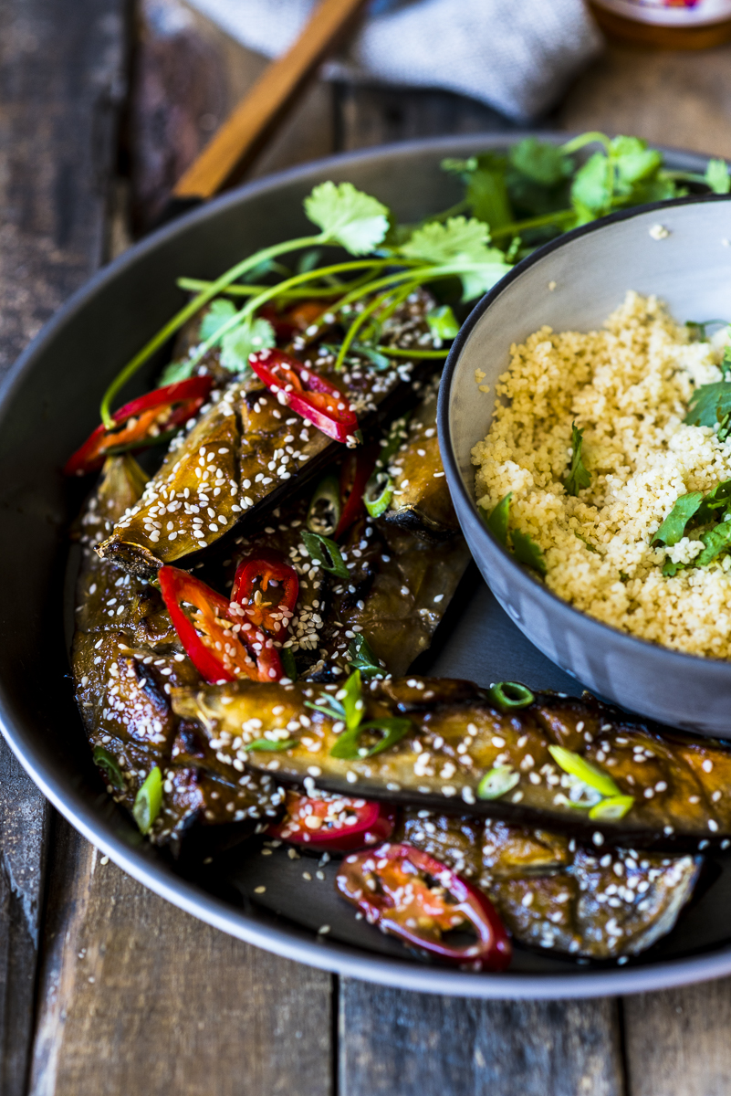 Miso Roasted Aubergine