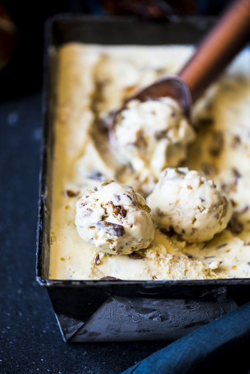 Hot Cross Bun Ice Cream
