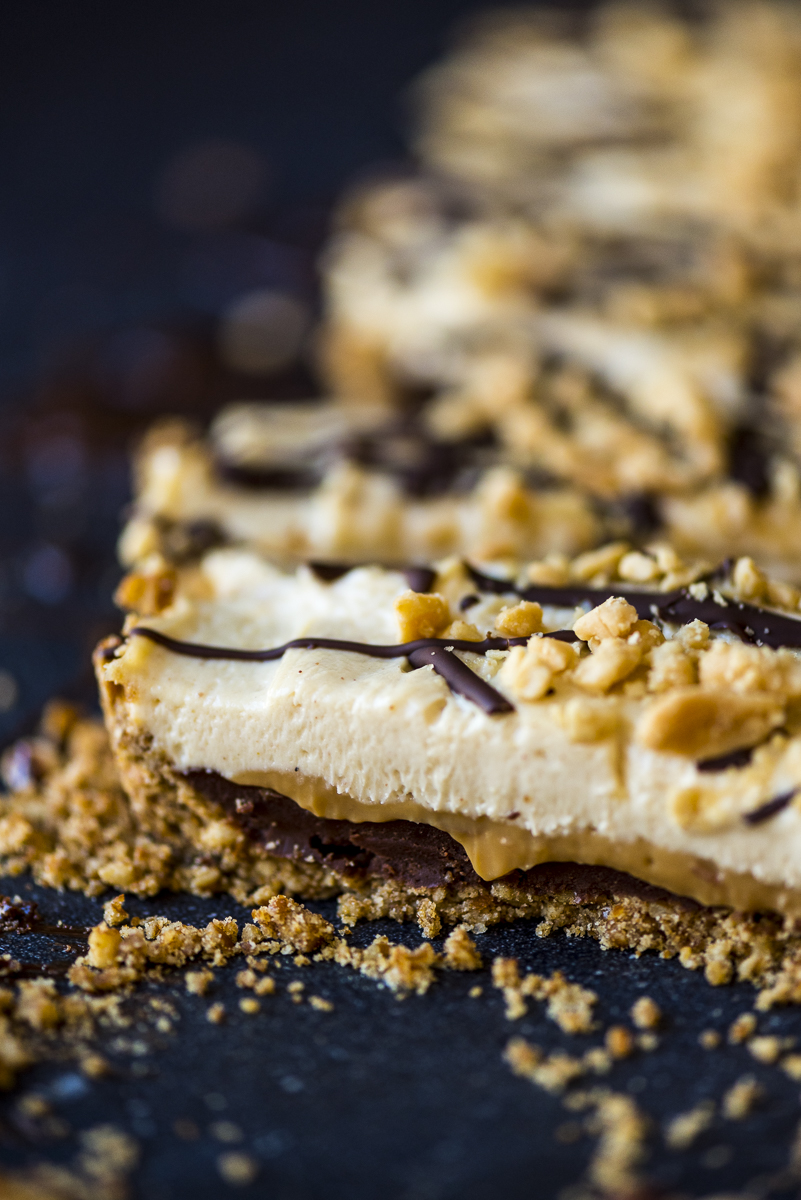 Peanut Butter Chocolate Tart
