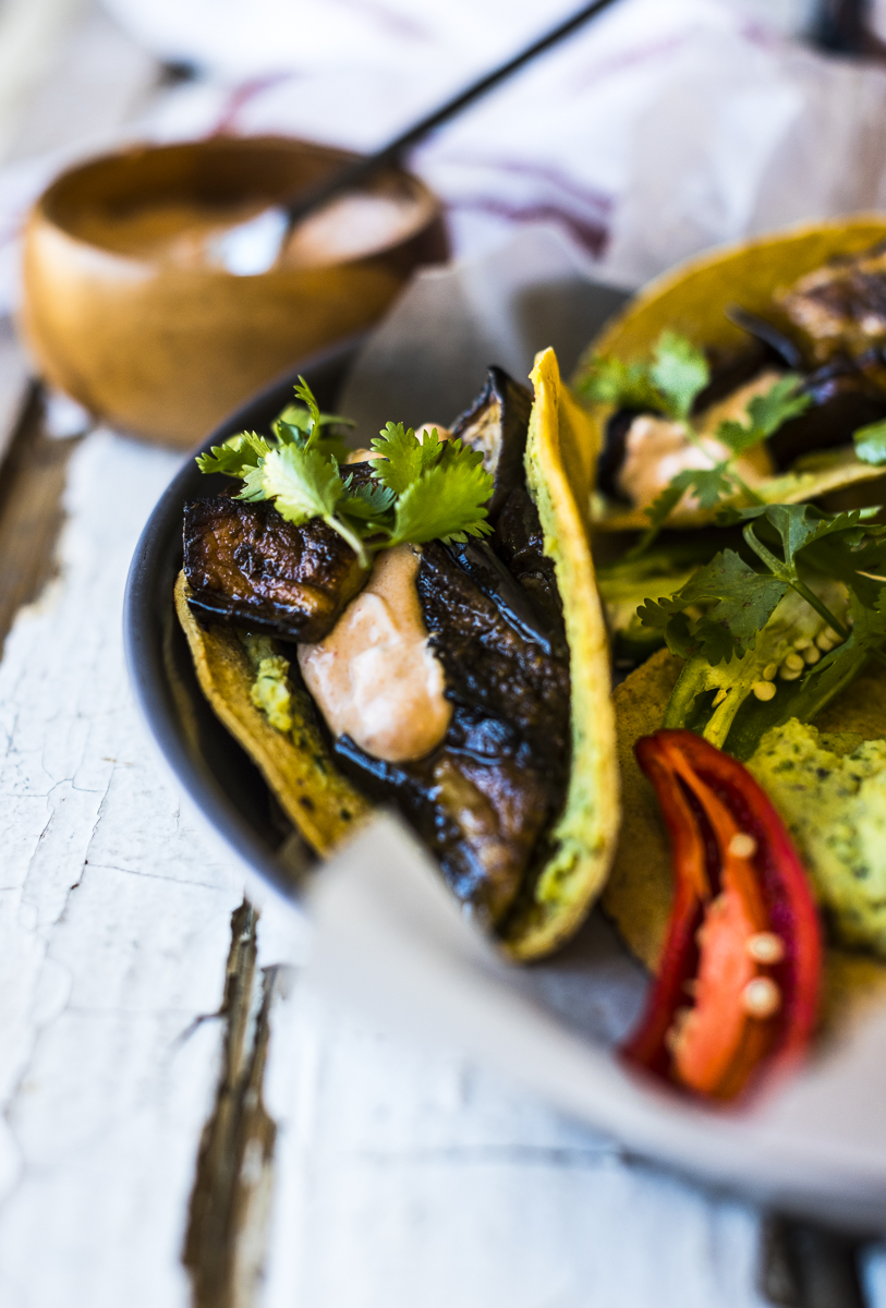 Roasted Aubergine Tortilla