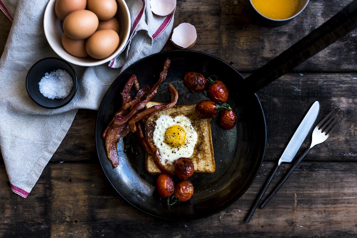 Duck Fat Egg Toastie