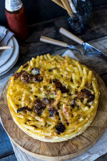 Macaroni and Cheese Cake
