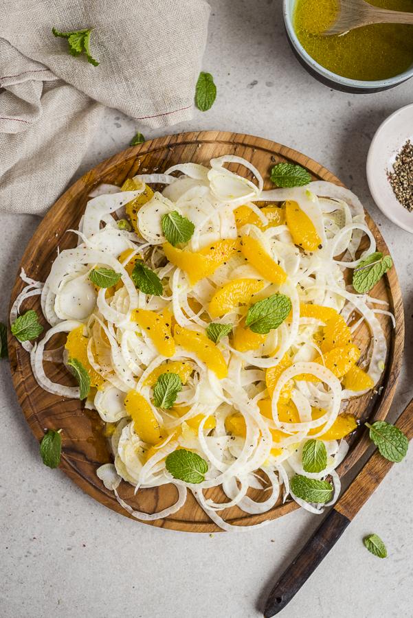 Fennel and Orange Salad